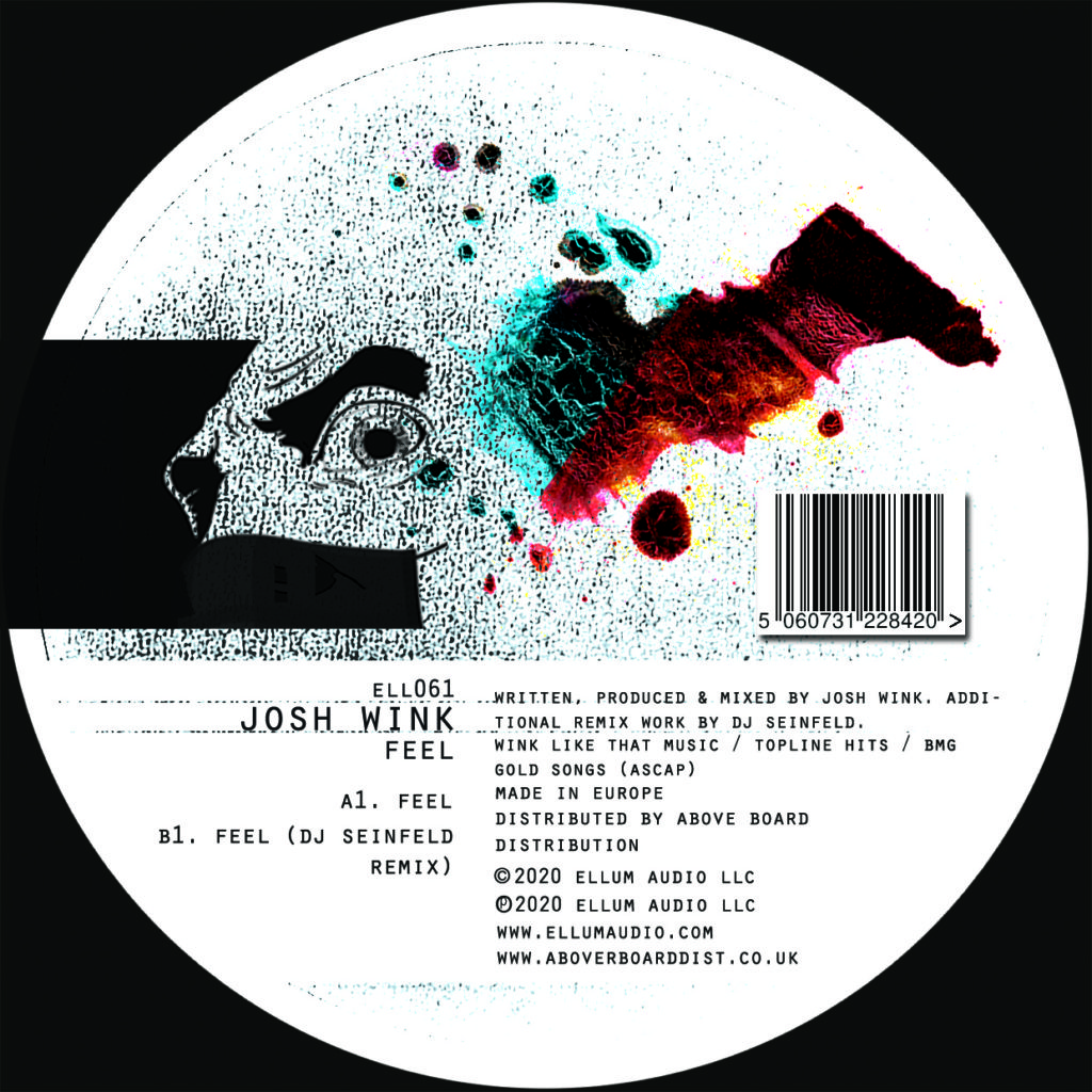 """Josh Wink/FEEL (DJ SEINFELD REMIX) 12"""""""