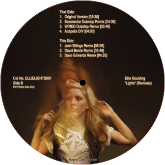 "Ellie Goulding/LIGHTS-BASSNECTAR RMX 12"""