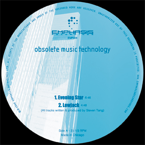 Obsolete Music Tech/EVENING STAR 12""