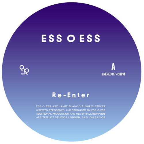 Ess O Ess/RE-ENTER 12""