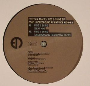 "Esteban Adame/RISE & SHINE (UR RMX) 12"""