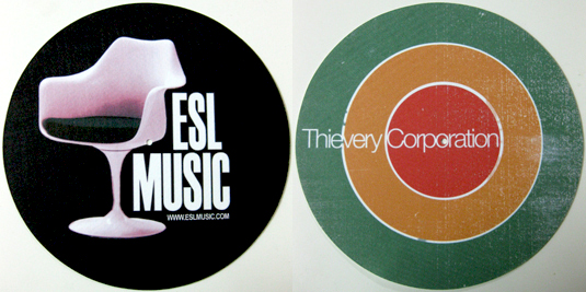 Thievery Corp & ESL/SLIPMATS (PAIR)