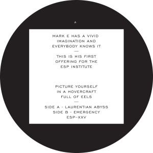 Mark E/EMERGENCY 12""