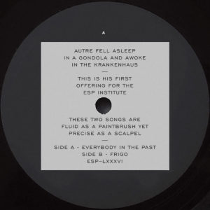 Autre/EVERYBODY IN THE PAST 12""
