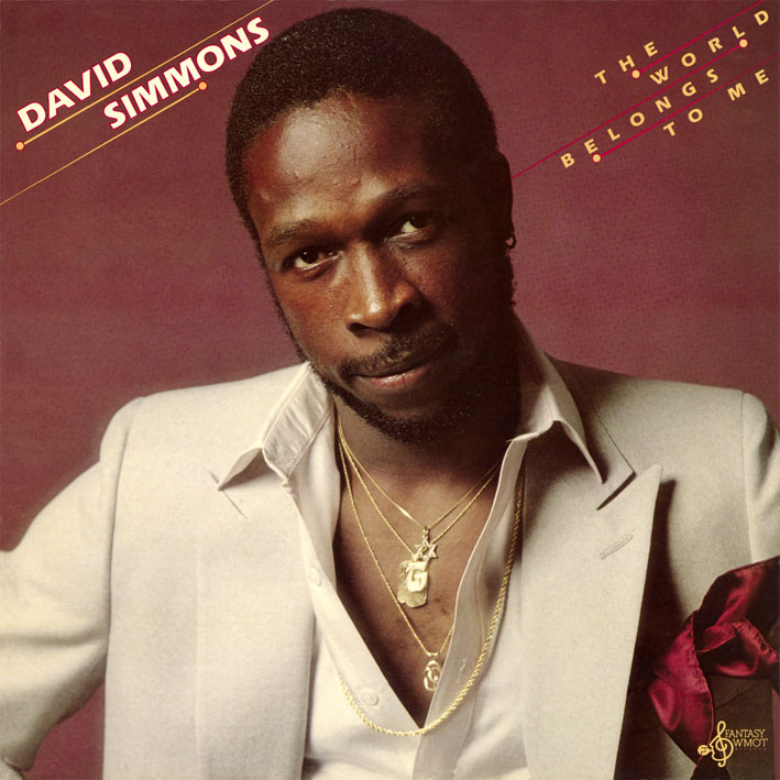 David Simmons/THE WORLD BELONGS TO ME CD