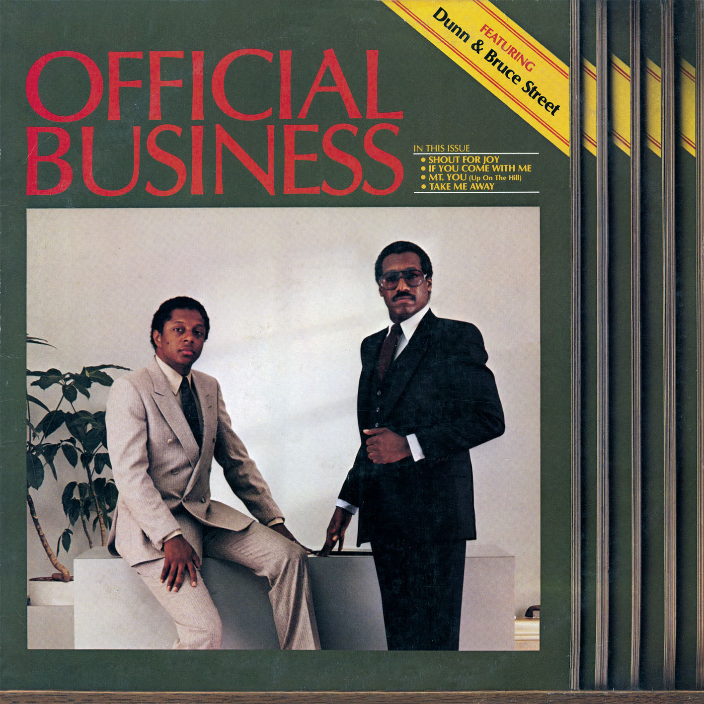 Dunn & Bruce Street/OFFICIAL BUSINESS CD