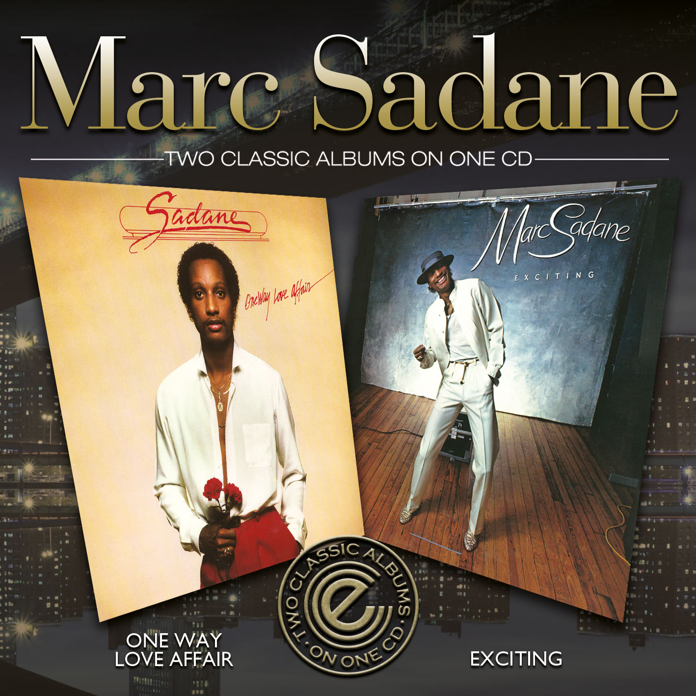 Marc Sadane/ONE WAY LOVE & EXCITING CD
