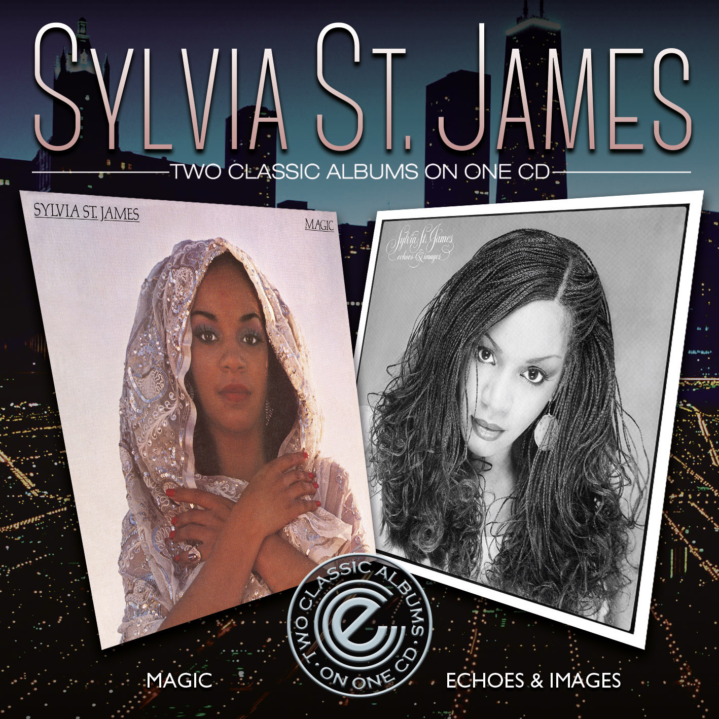 Sylvia St James/MAGIC & ECHOES IMAGES CD