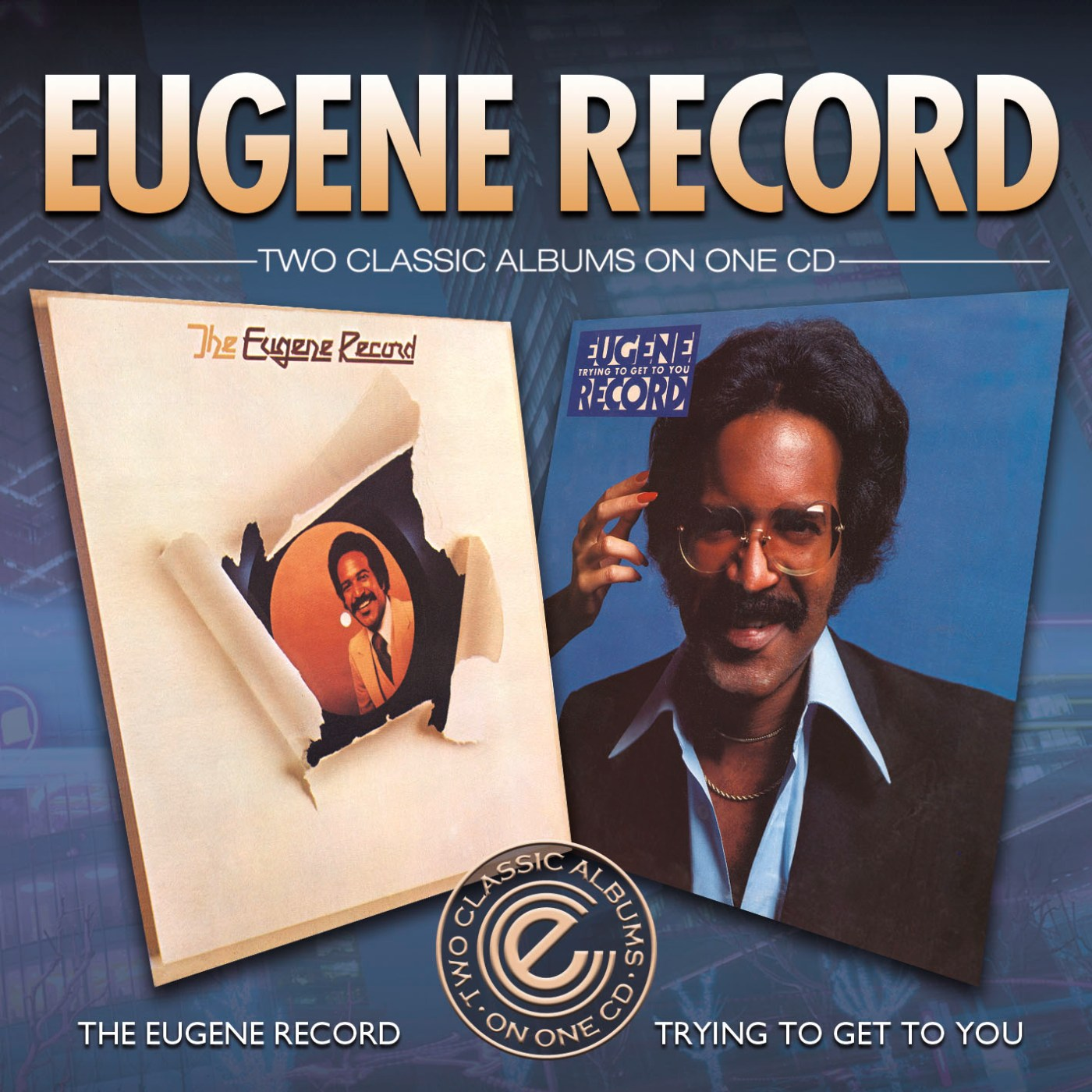 Eugene Record(Chi-Lites)/ST & TRYNG CD