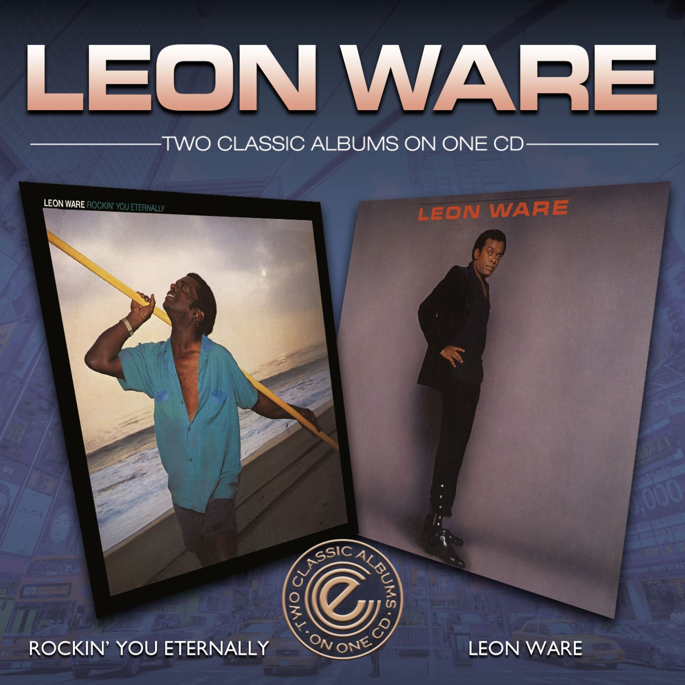 Leon Ware/ROCKIN' YOU & SELF TITLED CD