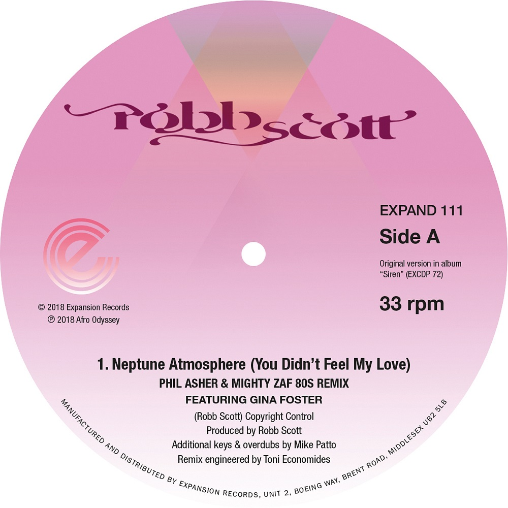 """Robb Scott/NEPTUNE ATM (2000 BLACK) 12"""""""