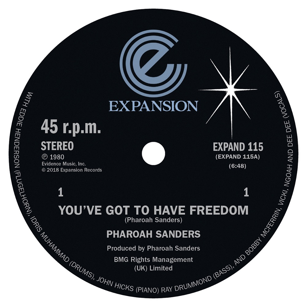 Pharoah Sanders/YOU'VE GOT TO HAVE 12""