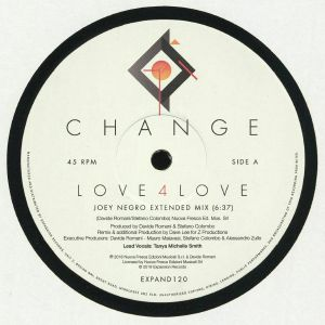 Change/LOVE 4 LOVE (JOEY NEGRO RMX) 12""