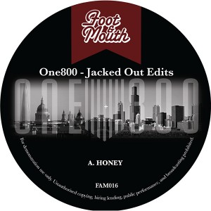 """One800/JACKED OUT EDITS 12"""""""