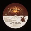 """Trevor & Lisa/DANCE TO THE DRUMMER'S 7"""""""