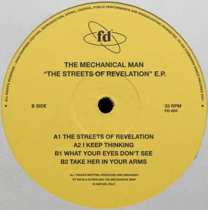 "Mechanical Man/STREETS OF REVELATION 12"""