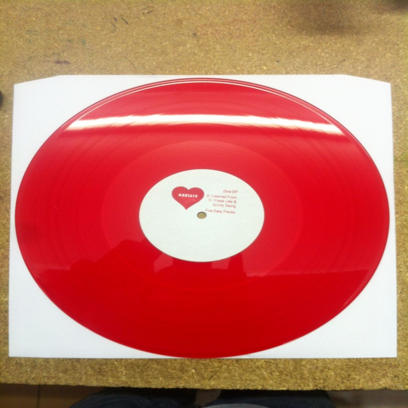 Citizen/DIVA EP (RED VINYL) 12""