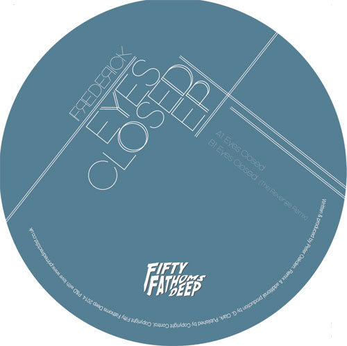Frederick/EYES CLOSED (REVENGE RMX) 12""