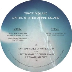Timothy Blake/UNITED STATES OF... 12""