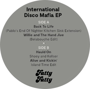 Various/INTERNATIONAL DISCO MAFIA EP 12""