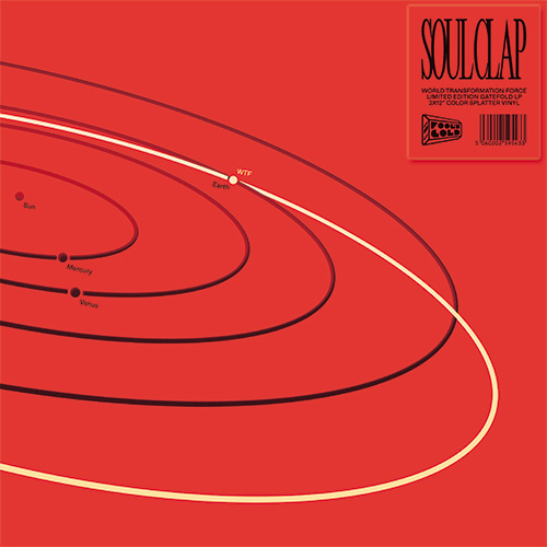 Soul Clap/WTF (RED & BLACK VINYL) DLP