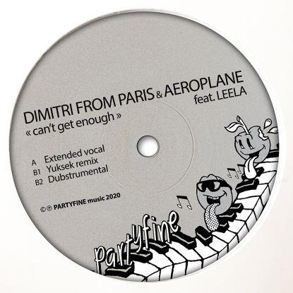 "Dimitri F.P. & Aeroplane/CAN'T GET.. 12"""