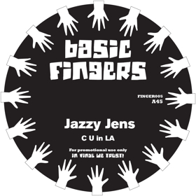 Jazzy Jens/C U IN LA - I WANT U 12""