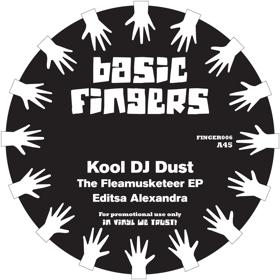 "Kool DJ Dust/FLEAMUSKETEER EP 12"""