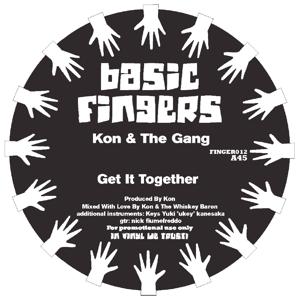 """Kon & The Gang/GET IT TOGETHER 12"""""""
