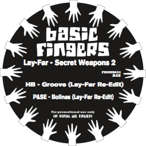 Lay-Far/SECRET WEAPONS EP 2 12""