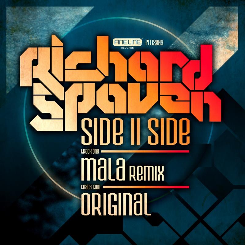 "Richard Spaven/SIDEIISIDE (MALA RMX) 12"""