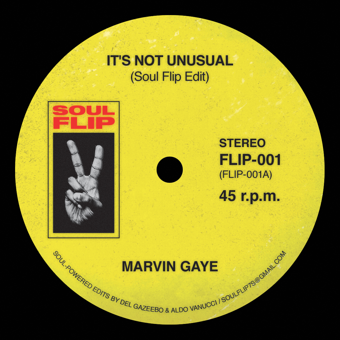 M Gaye/IT'S NOT UNUSUAL SOUL FLIP RMX 7""