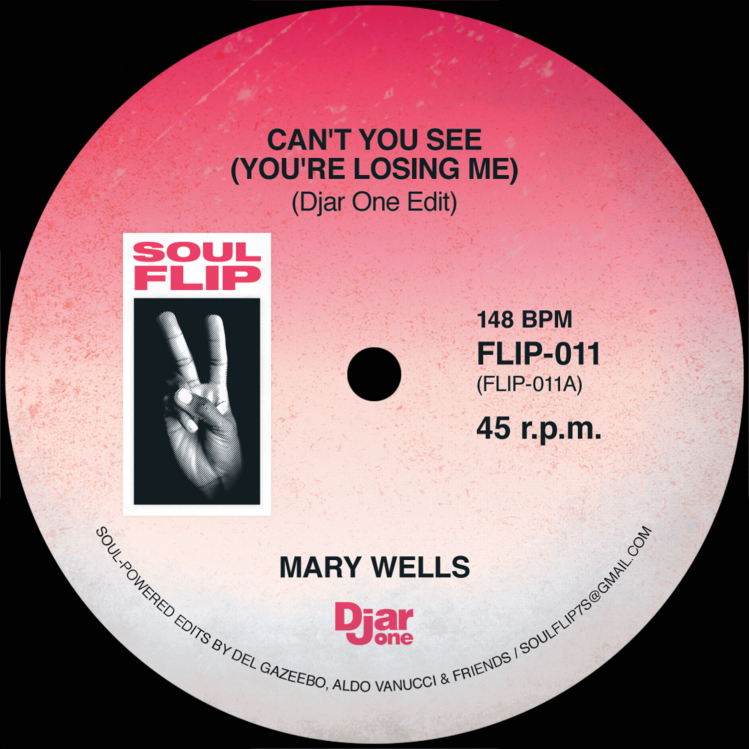 Mary Wells/CAN'T YOU SEE...SOUL FLIP 7""