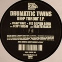 Drumattic Twins/DEEP THROAT EP 12""