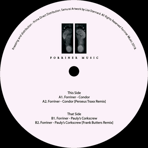 "Forriner/CONDOR EP 12"""