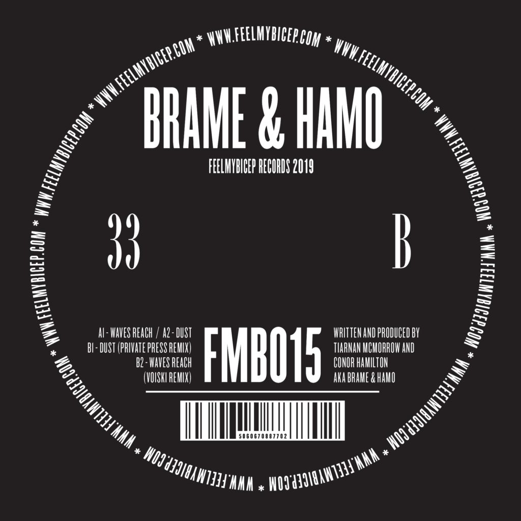 "Brame & Hammo/WAVES REACH 12"""