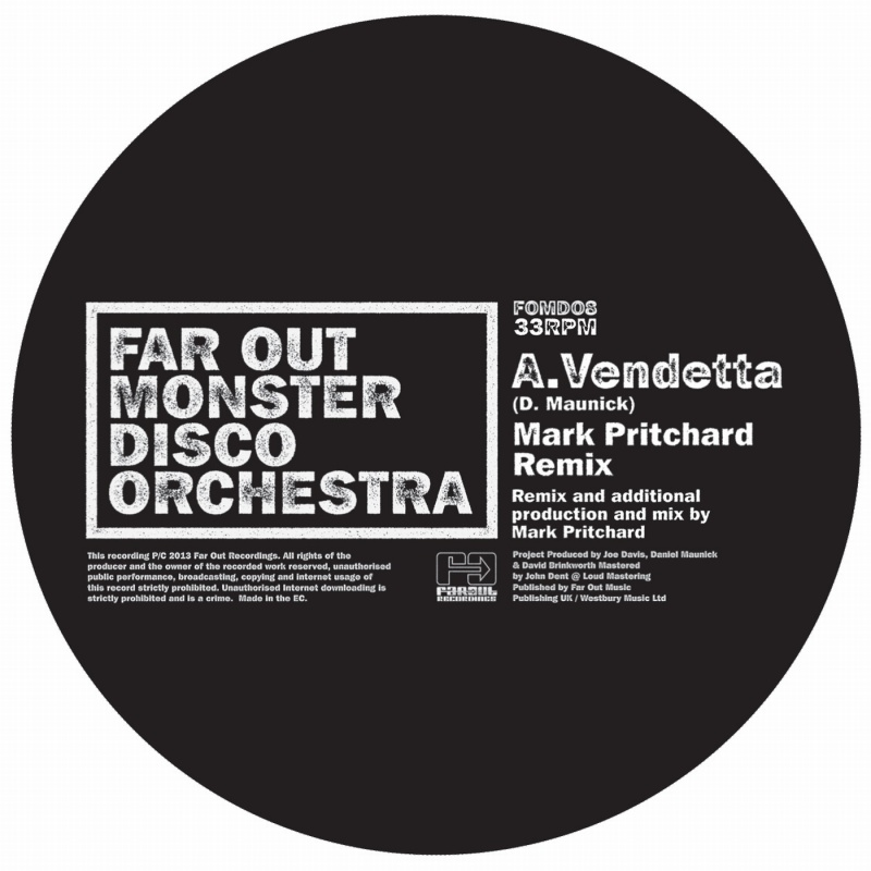 "Far Out Monster Disco/VENDETTA 12"""