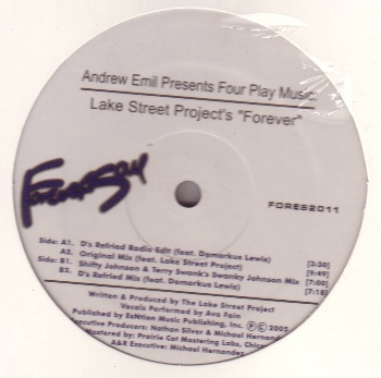 """Lake Street Project/FOREVER 12"""""""