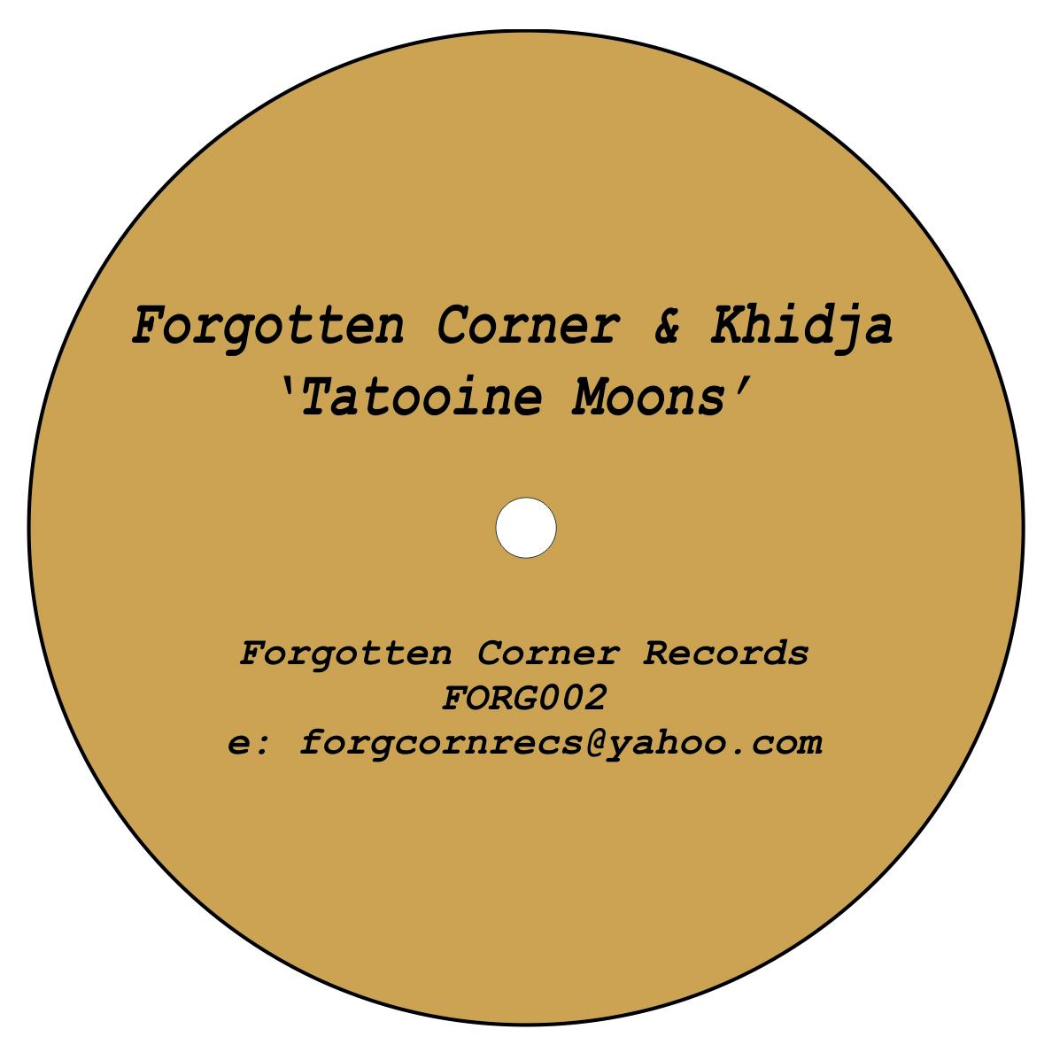 "Forgotten Corner & Khidja/TATOOINE 12"""