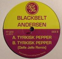 Blackbelt Anderson/TYRKISK PEPPER 12""