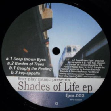 """Various/SHADES OF LIFE EP 12"""""""