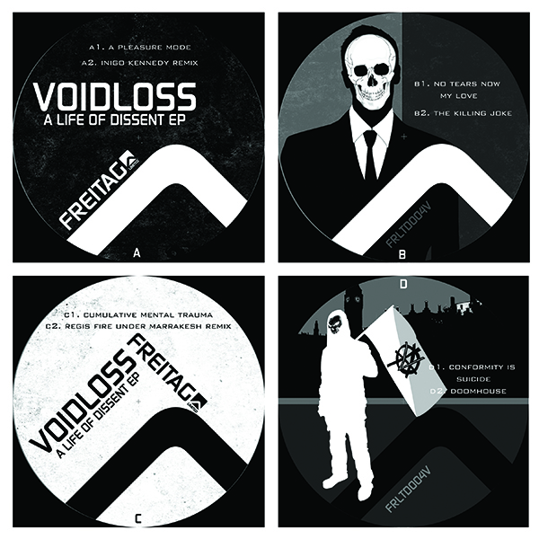 Voidloss/A LIFE OF DISSENT EP D12""