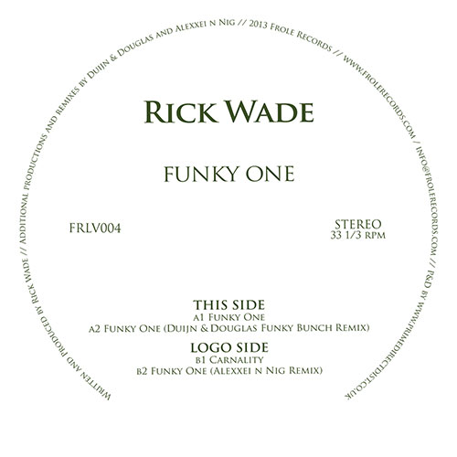 Rick Wade/FUNKY ONE 12""