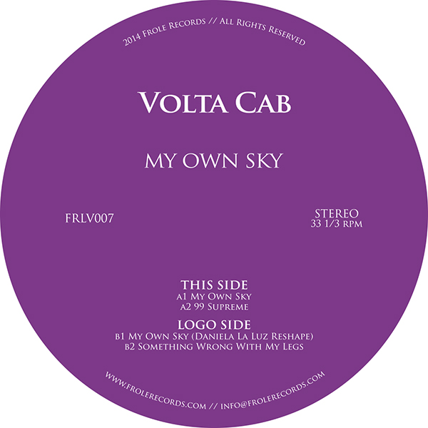 Volta Cab/MY OWN SKY 12""