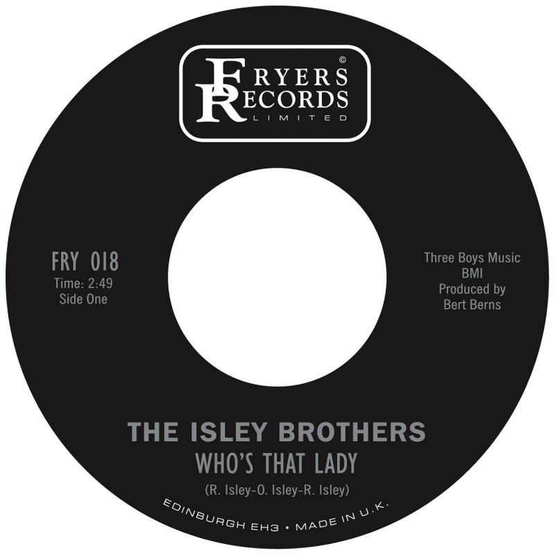 """Isley Brothers/WHO'S THAT LADY(EARLY) 7"""""""
