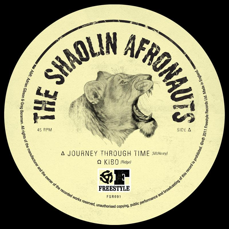 Shaolin Afronauts/JOURNEY THROUGH 12""