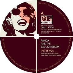 Randa & The Soul Kingdom/THINGS 12""