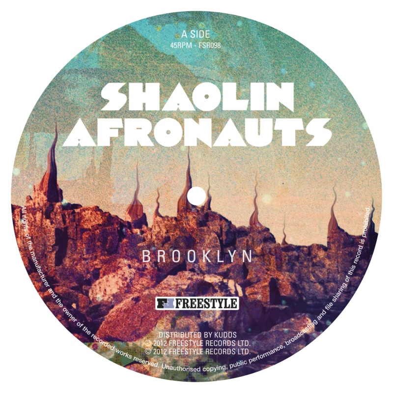 "Shaolin Afronauts/BROOKLYN 12"""