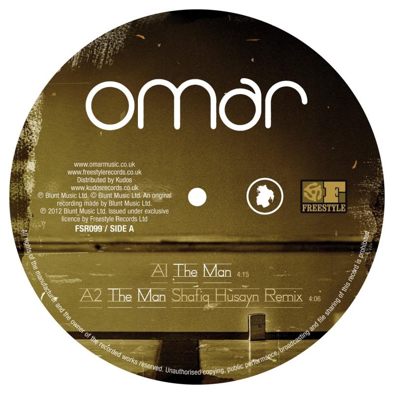 "Omar/THE MAN 12"""
