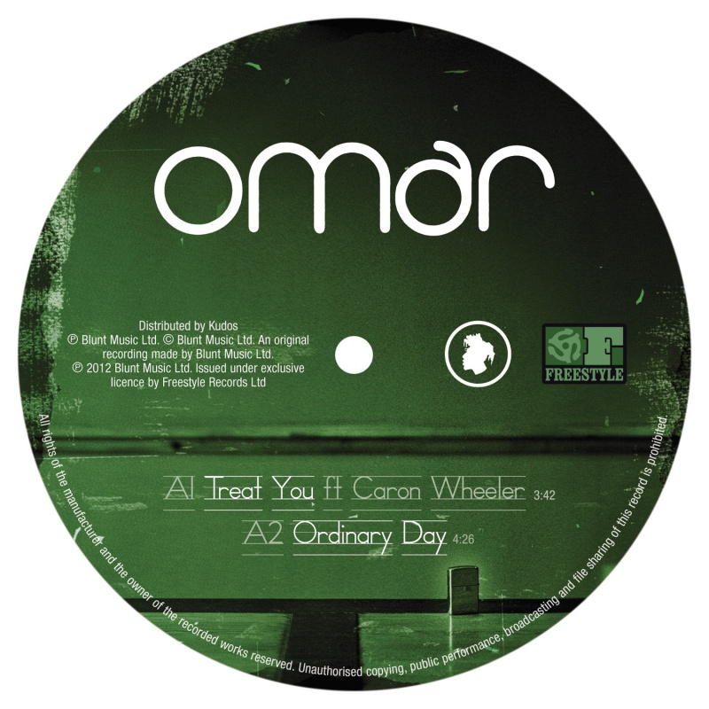 Omar/TREAT YOU (OPOLOPO REMIX) 12""